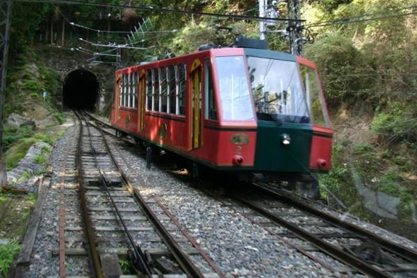 滋賀県大津から比叡山へアクセス(坂本ケーブル)