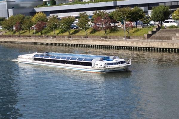 JR「春の関西1デイパス」は大阪水上バスのアクアライナーも乗り放題