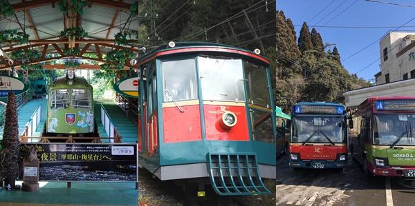神戸の六甲山・摩耶山へ阪急・阪神「六甲・まやレジャーきっぷ」