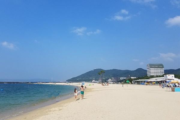 神戸「須磨海水浴場」の期間とアクセス(最寄駅)