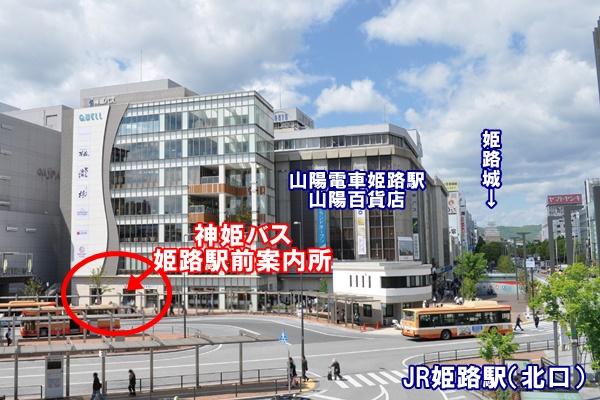 姫路セントラルパーク入園付き割引切符の購入場所(売場)