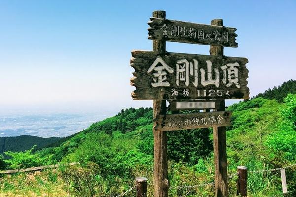 山 ハイキング 金剛