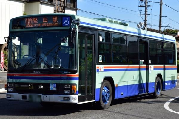 JR「冬の関西1デイパス」で江若バスが乗り放題