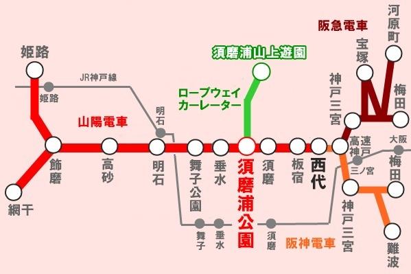 山陽電車「すまうらロープウェイお楽しみきっぷ」