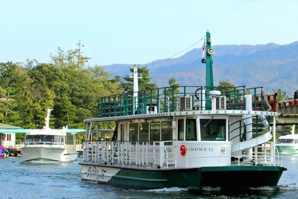 大阪から高速バスの「天橋立周遊きっぷ」では観光船も乗れます。