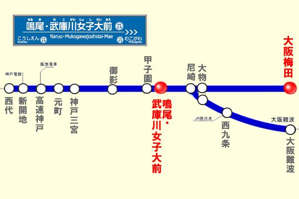 阪神電車の駅名変更