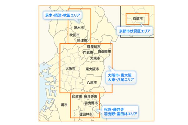 近鉄バス路線図