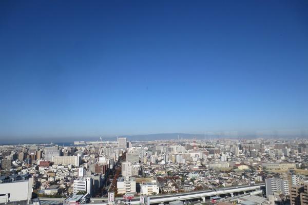 堺市役所展望ロビーからの眺め
