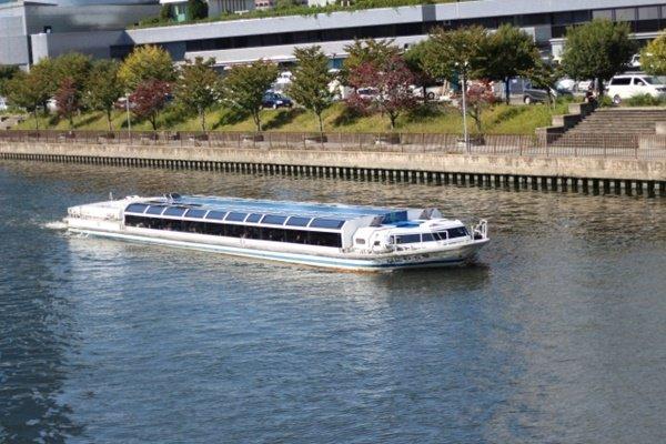 「秋の関西1デイパス」で大阪水上バスアクアライナーが乗り放題