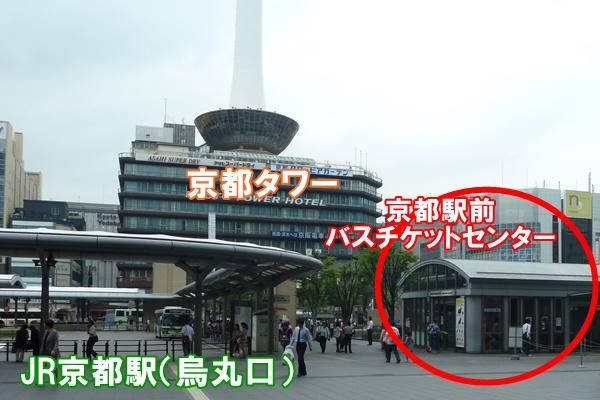 京都1日乗車券「バス一日券」購入場所(買えるところ)