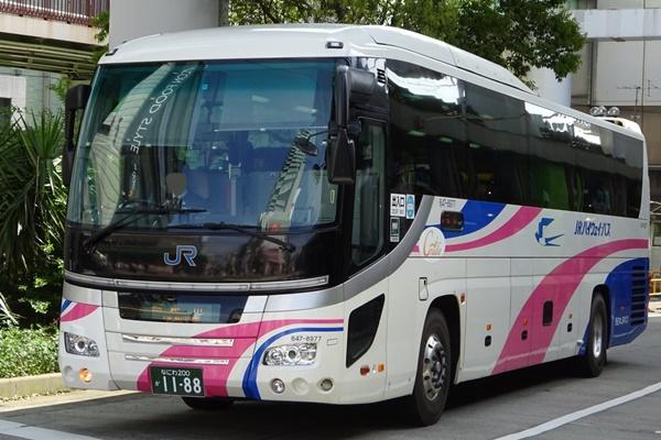 JR「西日本エリア高速バス乗り放題きっぷ」の値段、発売期間、購入方法、使い方
