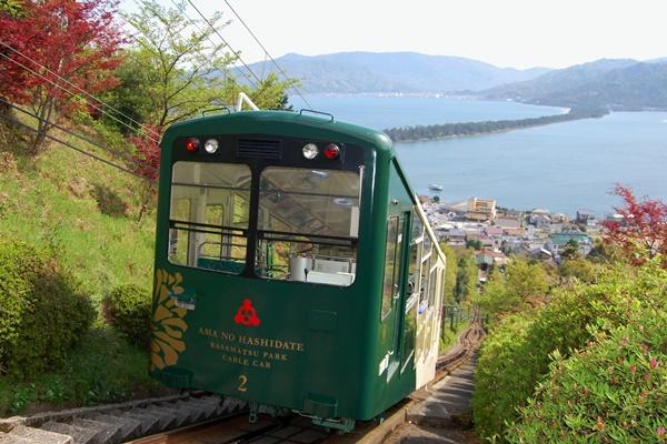 大阪からの高速バス「天橋立周遊きっぷ」で傘松公園ケーブルカー・リフトにも乗れます