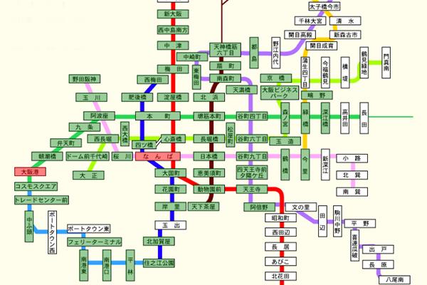 大阪地下鉄(メトロ)PiTaPa割引「マイスタイル」と定期券との利用範囲の違い