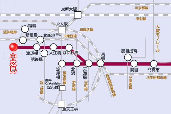 大阪の自衛隊ワクチン接種会場へのアクセス方法(電車)