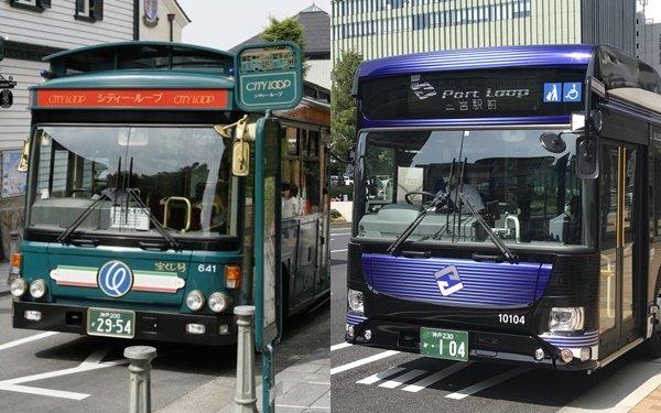 「KOBE(神戸)観光の日」にシティーループバス・ポートループバスの1日乗車券が特別割引に。